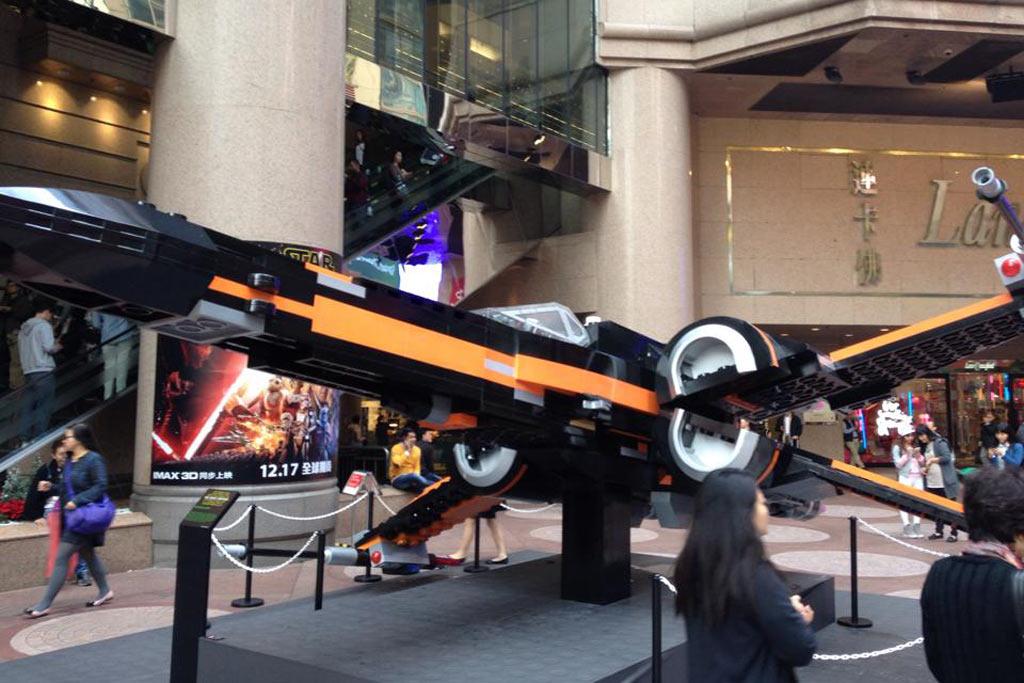 lego star wars exhibition at hong kong times square