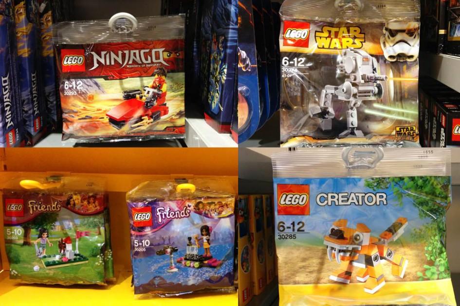 Lego Polybags im freien Verkauf   © Andres Lehmann