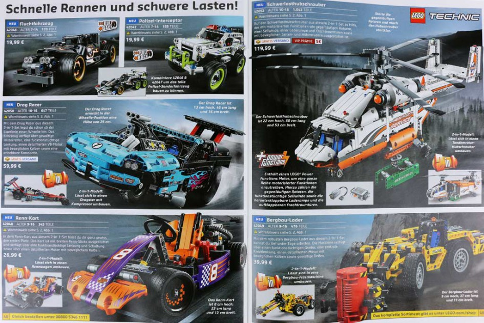Lego Technic 2016 im ersten Halbjahr | © Andres Lehmann