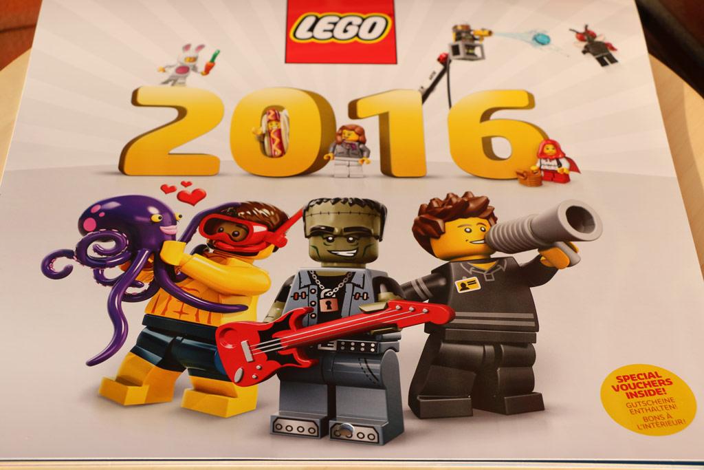Lego Wandkalender 2016 | © Andres Lehmann