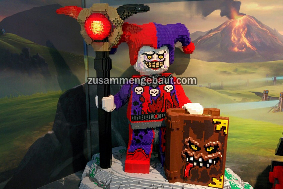 "Evil Guard: Nexo Knights' Villain ""Jestro"""