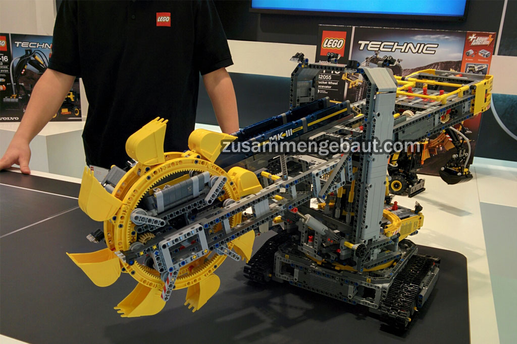 New Technic-Set: Bucket Wheel Excavator (42055) | © Andres Lehmann / zusammengebaut.com