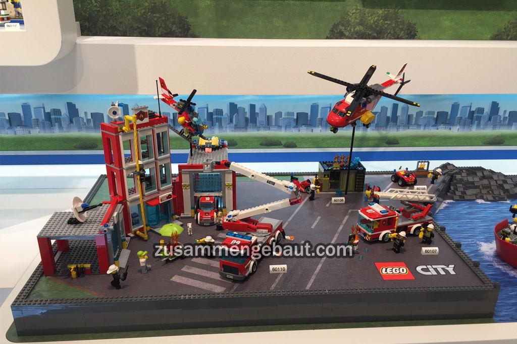 Lego City Fire Station | © Matthias Kuhnt / zusammengebaut.com