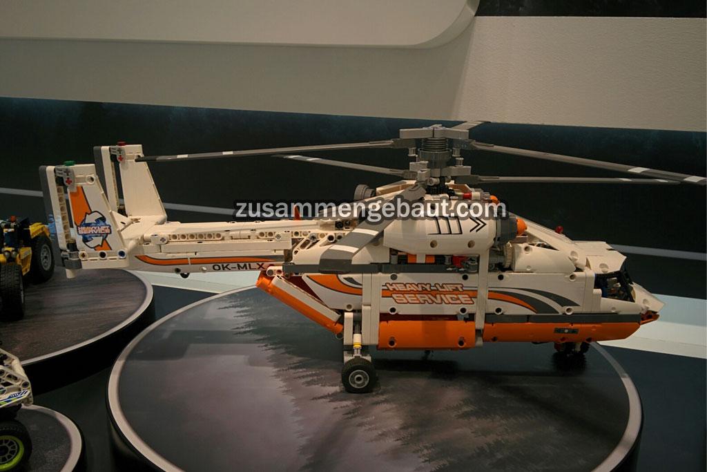 Helikopter | © Andres Lehmann / zusammengebaut.com