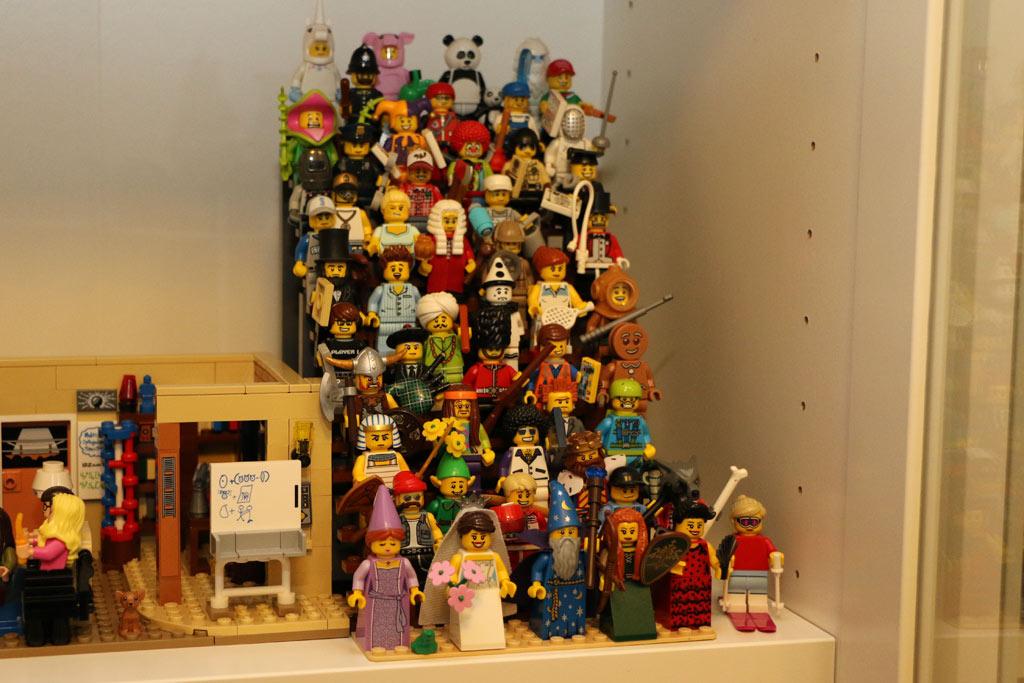 Auch die Minifiguren haben eine neue Heimat gefunden. | © Andres Lehmann
