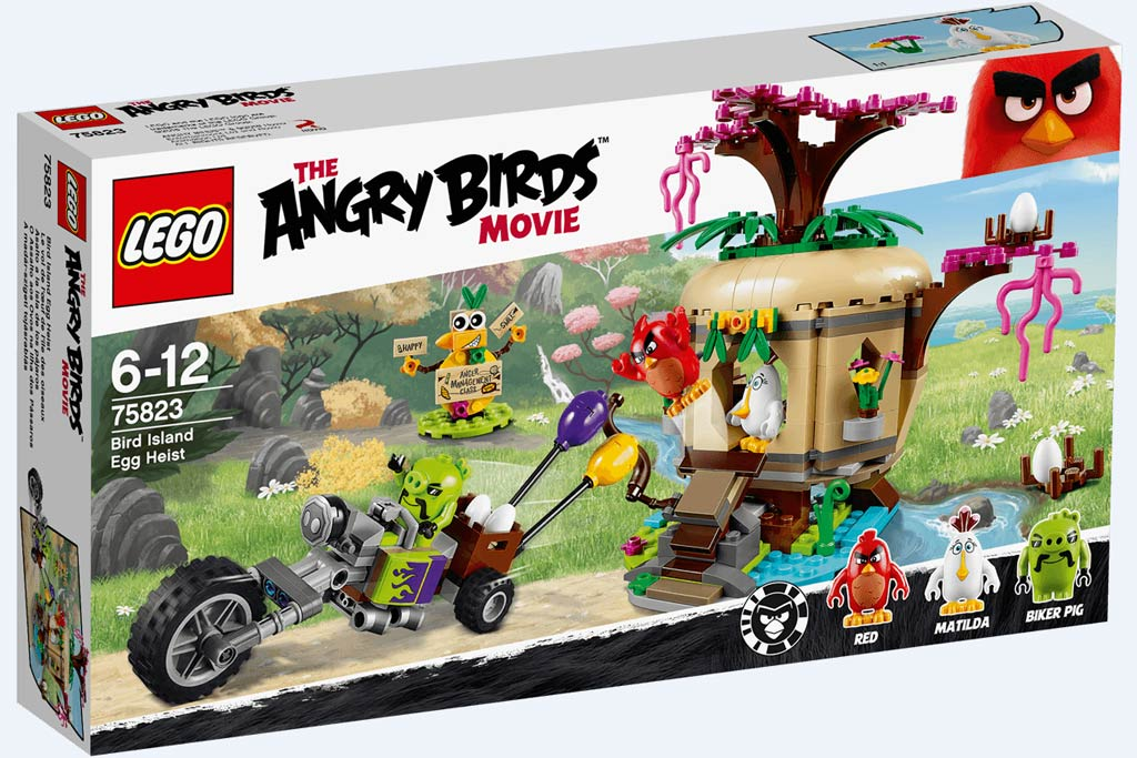 Lego Angry Birds Bird Island Egg Heist (75823) | © LEGO Group