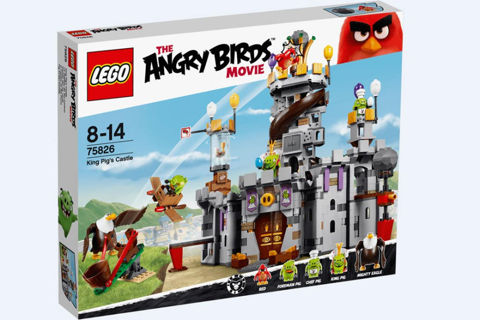 Lego Angry Birds King Pig's Castle (75286) | © LEGO Group