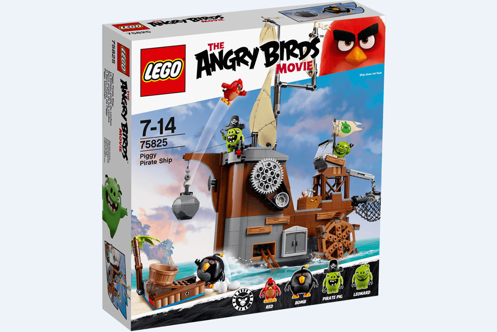 Lego Angry Birds Piggy Pirate Ship (75825) | © LEGO Group