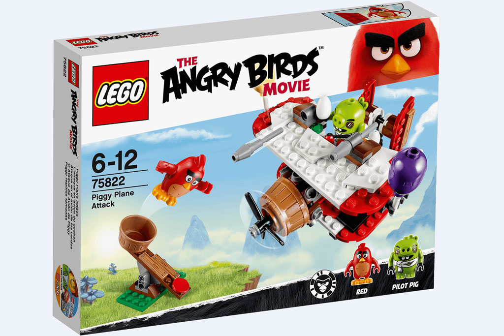 Lego Angry Birds Piggy Plane Attack (75822) | © LEGO Group