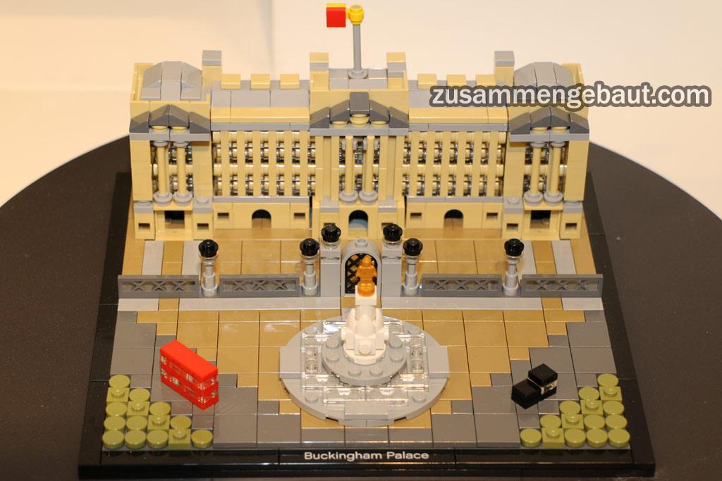 Lego Architecture Buckinghame Palace | © Andres Lehmann / zusammengebaut.com