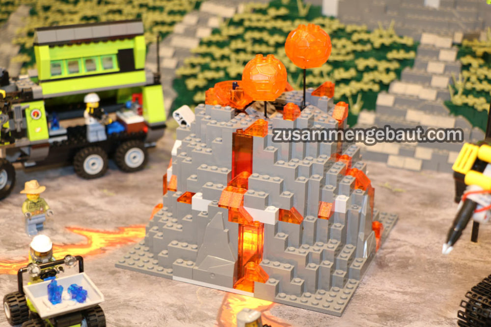 Toy Fair 2016: Five new Lego City Volcano sets on display