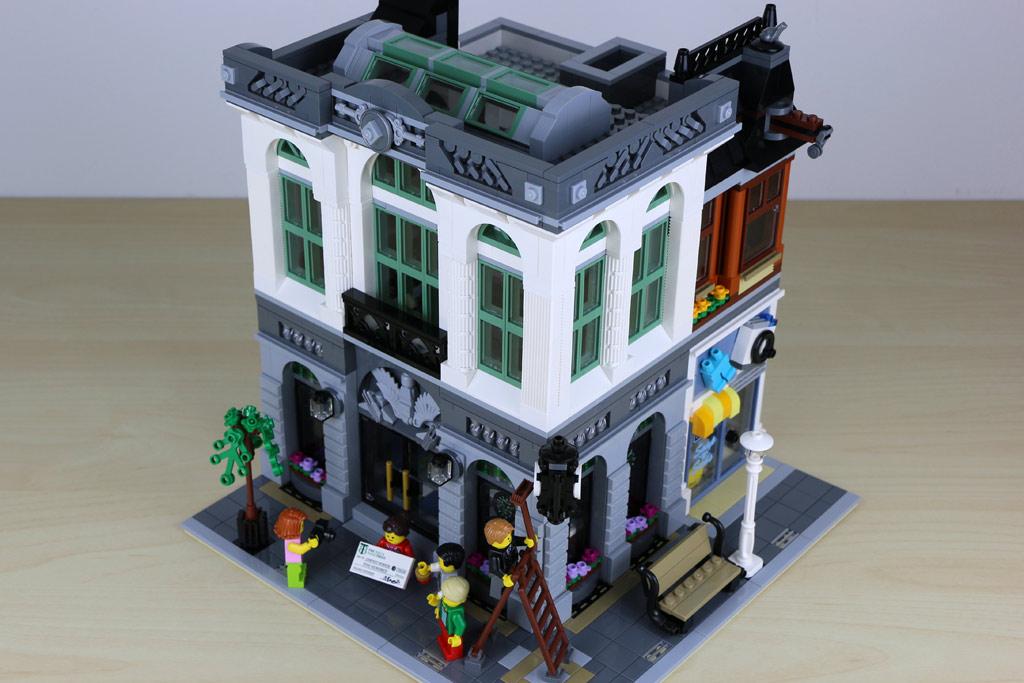 Die Brick Bank In Voller Pracht Andres Lehmann
