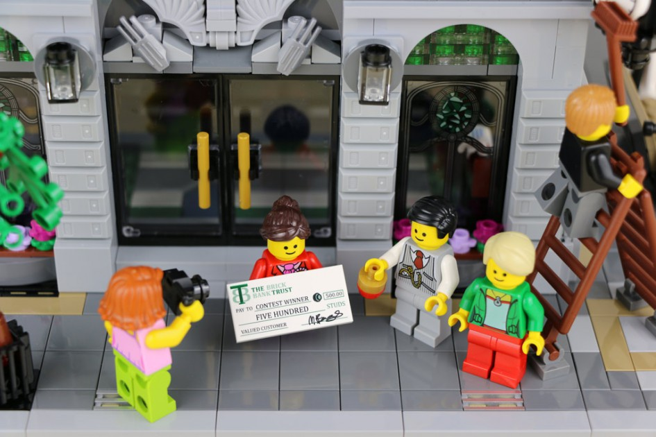 Die Lego Creator Expert Brick Bank ist der Hauptgewinn! | © Andres Lehmann