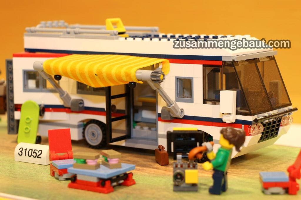 Lego Creator Sommer Set 2016 Neuer Camper Quot Vacation Gataways Quot Zusammengebaut