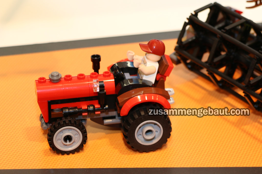 This tractor is a lovely build. | © Andres Lehmann / zusammengebaut.com