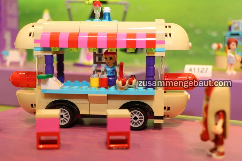 Hot Dog Stand Lego Set