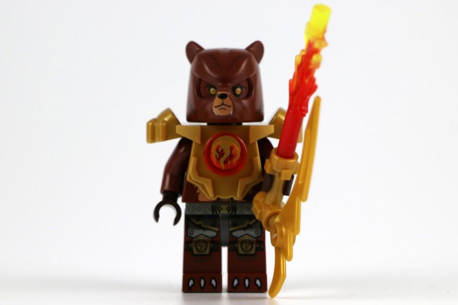 Lego Chima: Bulkar und sein Feuer-Säbel | © Andres Lehmann