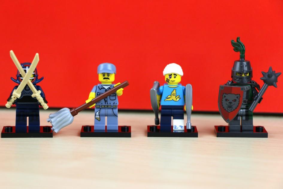 Lego Minifiguren Serie 15: Vier 16 | © Andres Lehmann