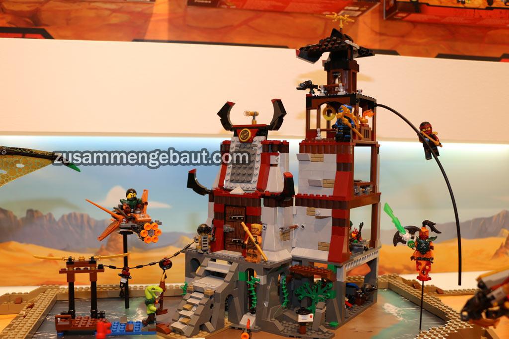 Ein neuer Tempel für die Ninjas... | © Andres Lehmann / zusammengebaut.com