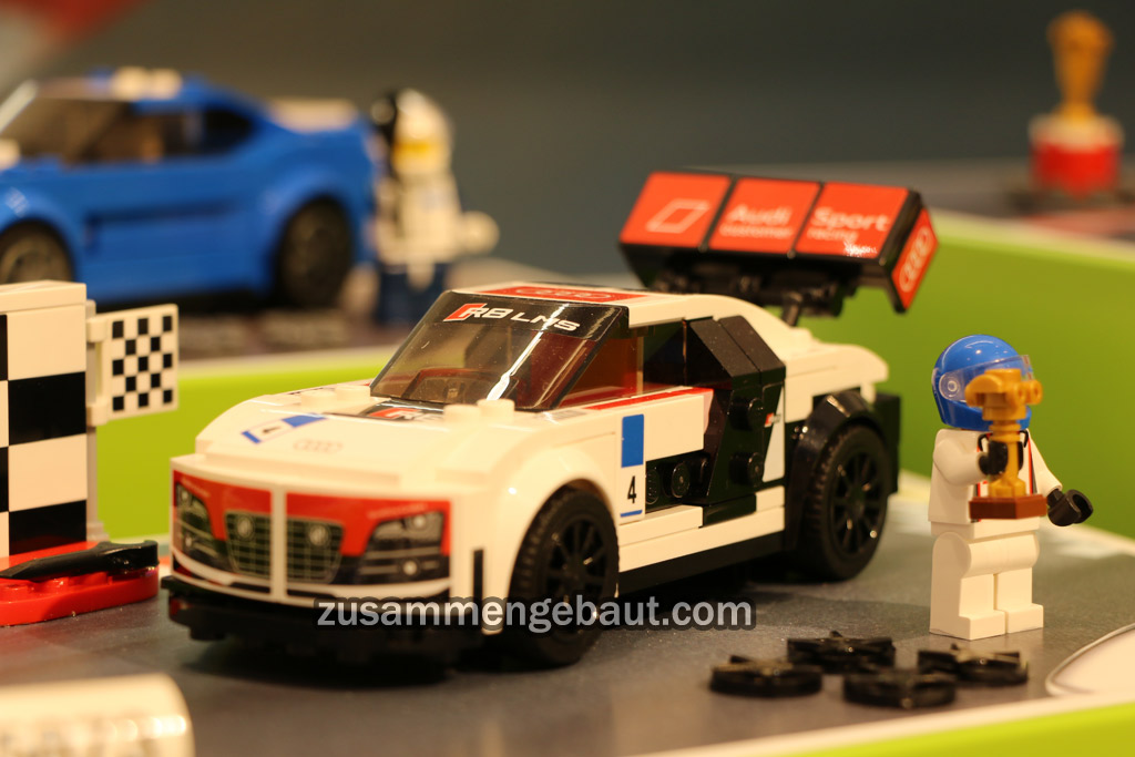 Toy Fair 2016 Lego Speed Champions With Ford Audi