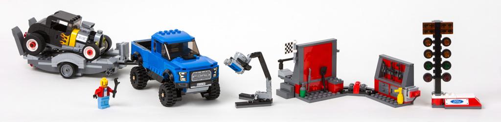 Lego Speed Champions: F-150 Raptor   © LEGO Group