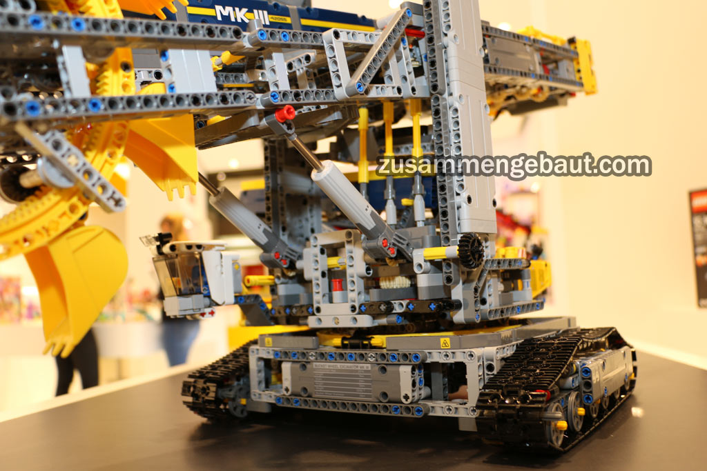 42055 bucket wheel excavator page 11 lego technic. Black Bedroom Furniture Sets. Home Design Ideas