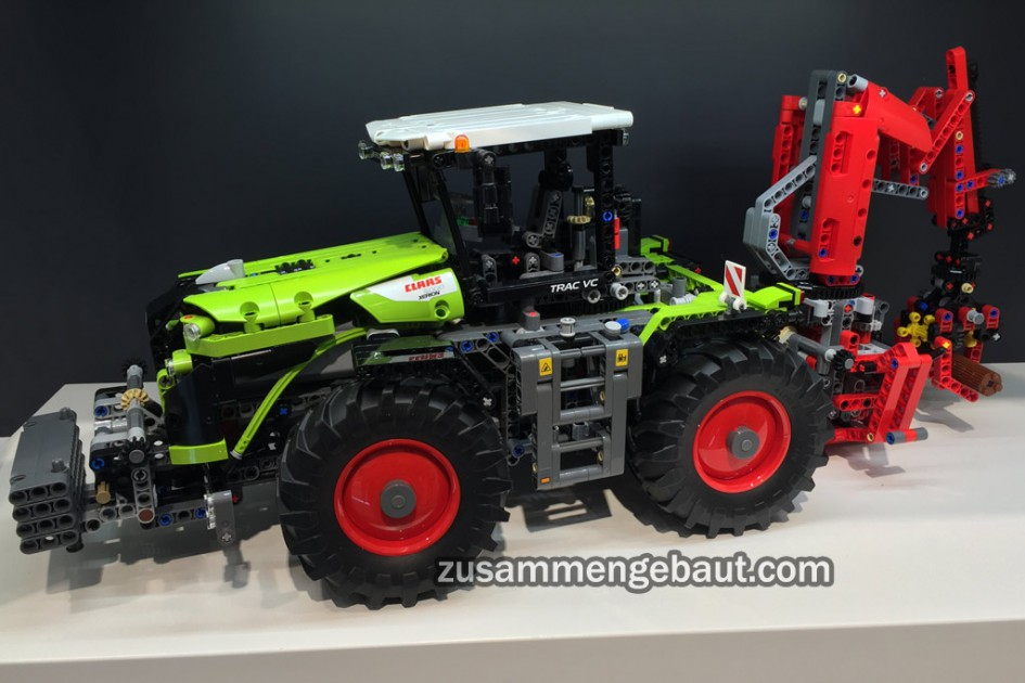 toy fair 2016 lego technic claas xerion 5000 tractor. Black Bedroom Furniture Sets. Home Design Ideas