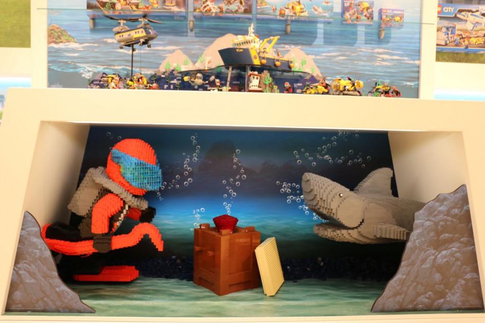 Lego: Auf der Spielwarenmesse tauchen wir auch in diesem Jahr ab.   © Andres Lehmann