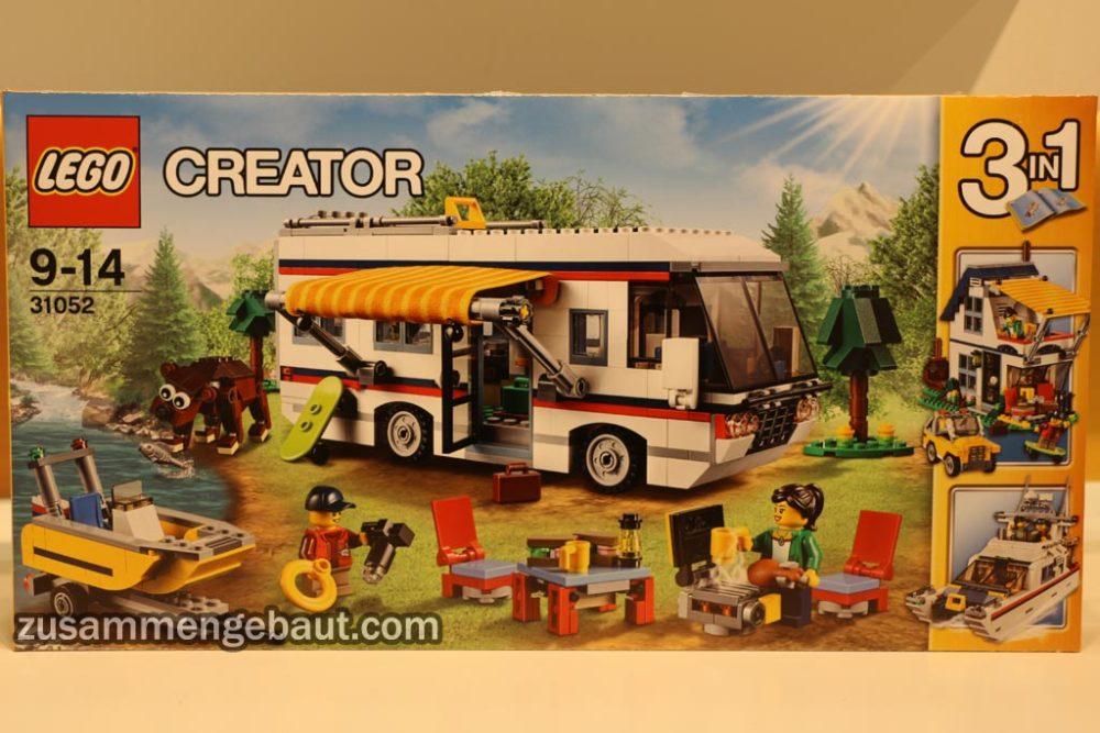 lego creator sommer set 2016 neuer camper vacation. Black Bedroom Furniture Sets. Home Design Ideas