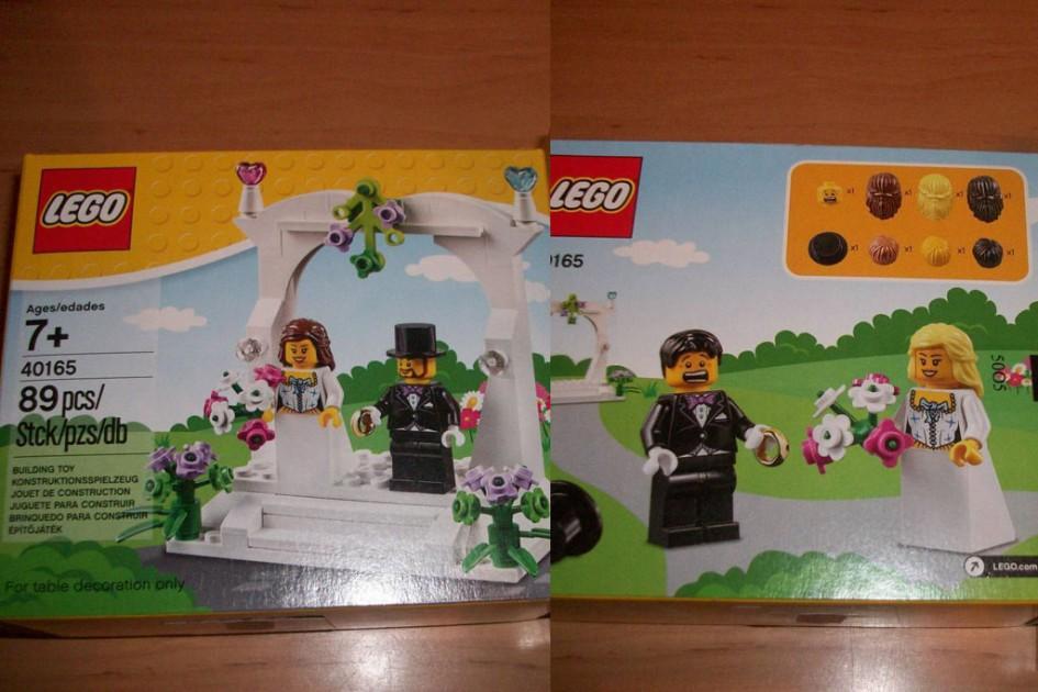 Neues Lego Hochzeitspärchen | © eBay/ norilyn1976