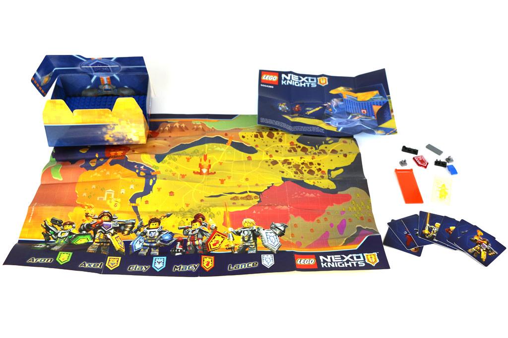 Lego Nexo Knights Gefechtsstation | © Andres Lehmann / zusammengebaut.com