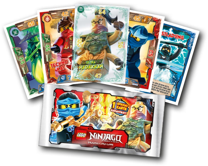 Lego Ninjago Trading Cards | © Blue Ocean Entertainment AG