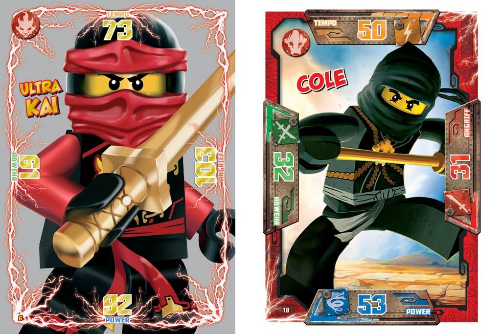 kartenspiel ninjago