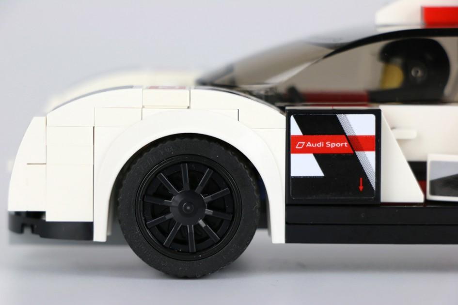 Lego Speed Champions Audi R18 e-tron quattro   © Andres Lehmann / zusammengebaut.com