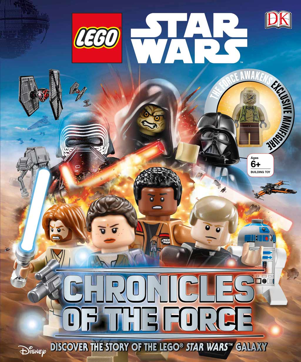 """Cover: Lego Star Wars """"Chronicles of the Force""""   © Disney"""