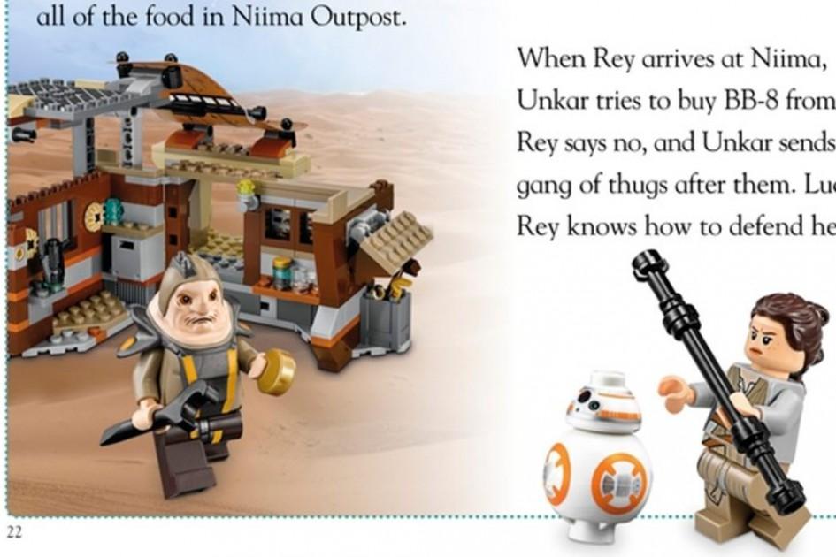 """""""Encounter on Jakku""""   © DK/ Lego Group"""
