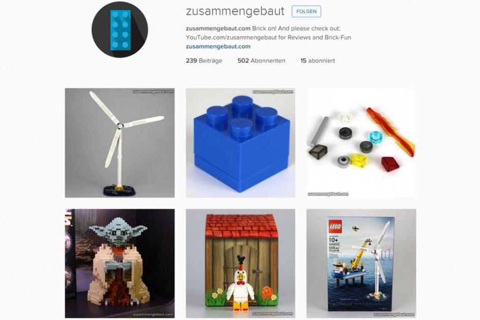 Zusammengebaut bei Instagram | © Screenshot