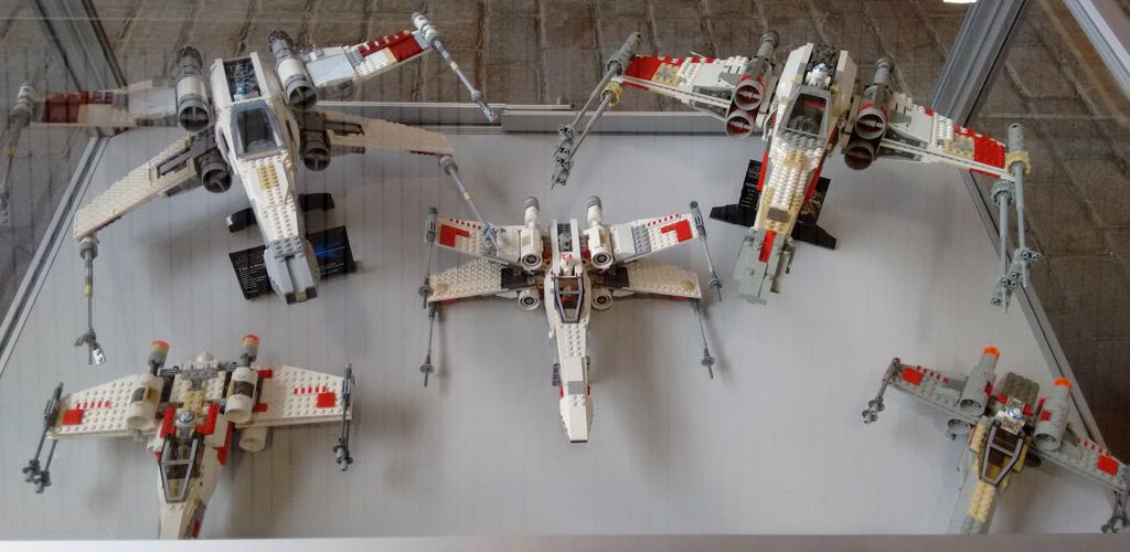 Lego Star Wars X-Wing-Sammlung | © Roland Triankowski