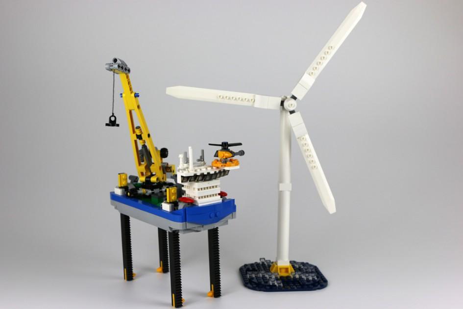 Lego Borkum Riffgrund 1 | © Andres Lehmann / zusammengebaut.com