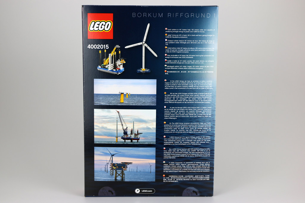 Rückseite des Kartons mit zahlreichen Informationen | © Andres Lehmann / zusammengebaut.com