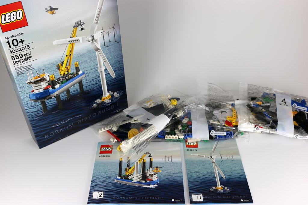 Ausgepackt: Lego Borkum Riffgrund 1 | © Andres Lehmann / zusammengebaut.com