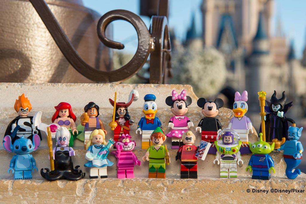 Lego Disney Sammel-Minifiguren   © Disney / Pixar /Disney Parks Blog