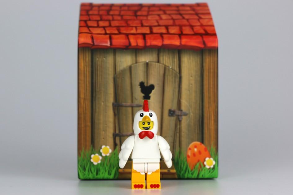 Lego Oster-Minifigur und sein Häuschen   © Andres Lehmann / zusammengebaut.com