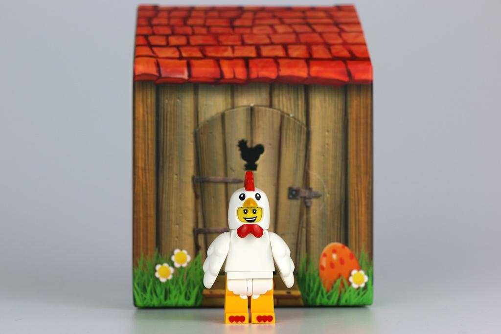 Lego Oster-Minifigur und sein Häuschen | © Andres Lehmann / zusammengebaut.com