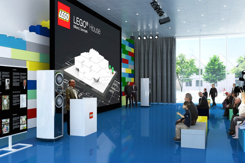 Lego House Home Of The Brick Complete Press Kit