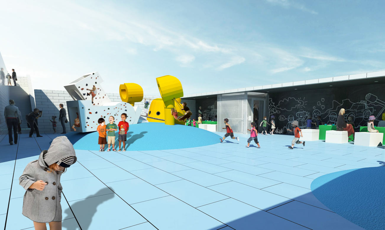Lego House: Terasses outside | © LEGO Group
