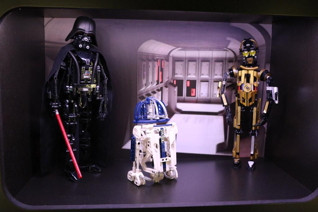Lego Star Wars Darth Vader (8010), R2-D2 (8009), C-3PO (8007) | © Andres Lehmann / zusammengebaut.com