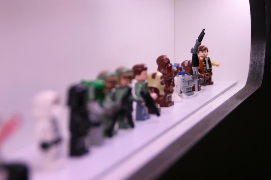 Umfassende Lego Star Wars Minifiguren Sammlung | © Christian Baier / zusammengebaut.com