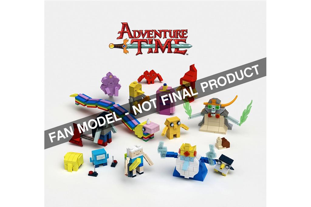 Adventure Time!   © Lego / aBetterMonkey