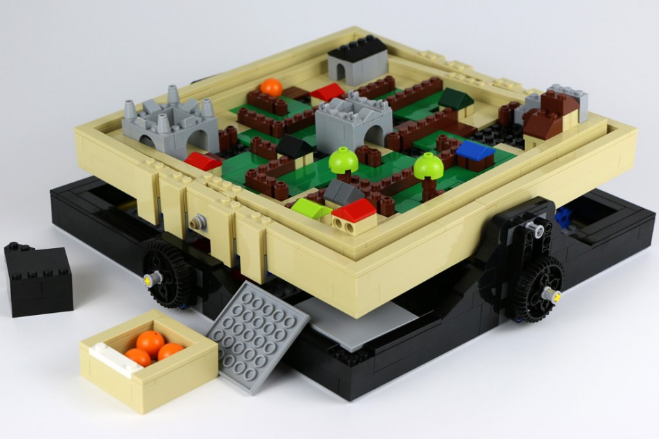 Lego Ideas Maze | © Andres Lehmann / zusammengebaut.com